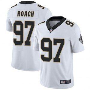 Saints Malcolm Roach White Jersey